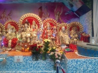 6. Hindu shrine for doing Puja