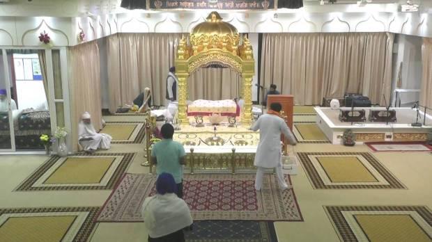 3. Park Avenue Gurdwara - Guru Granth Sahib Ji's Parkash.jpg