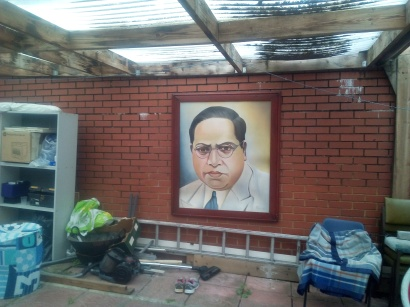 9. Babasaheb in the common house