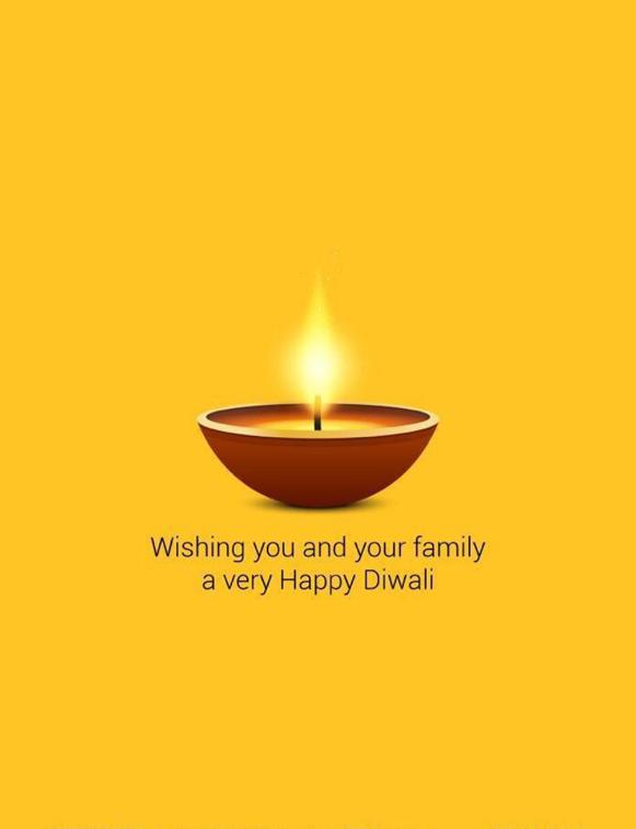 1. diwali card